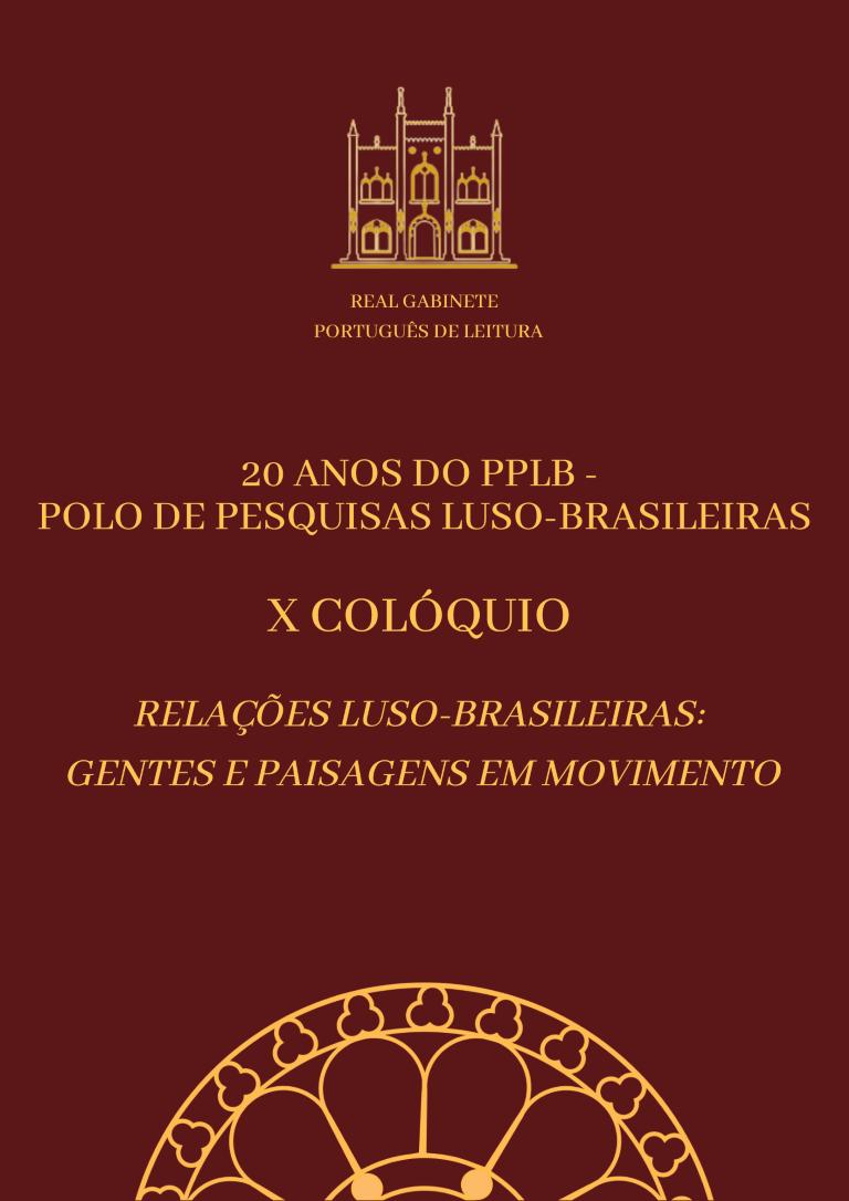X Colóquio do PPLB
