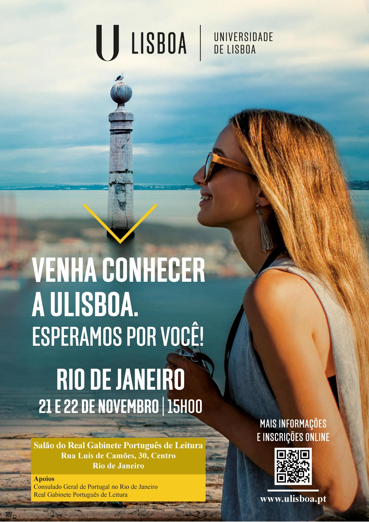 Estude na Universidade de Lisboa